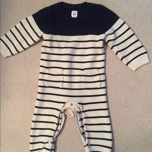 Baby boy sweater outfit
